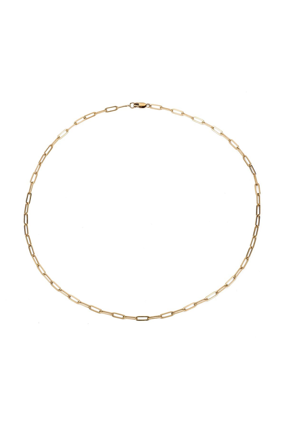 MICRO RECTANGLE CHAIN CHOKER BY MARA CARRIZO SCALISE