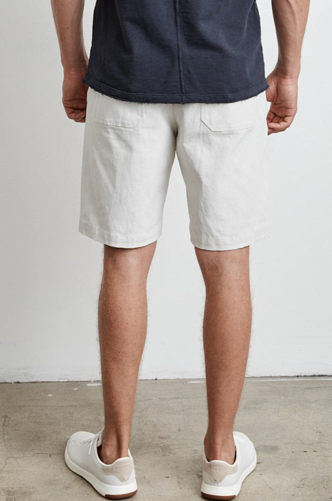 EVIN COTTON CANVAS SHORT