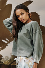 Olivette Sweatshirt Willow Side 2