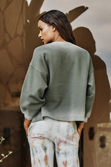 Olivette Sweatshirt Willow Back