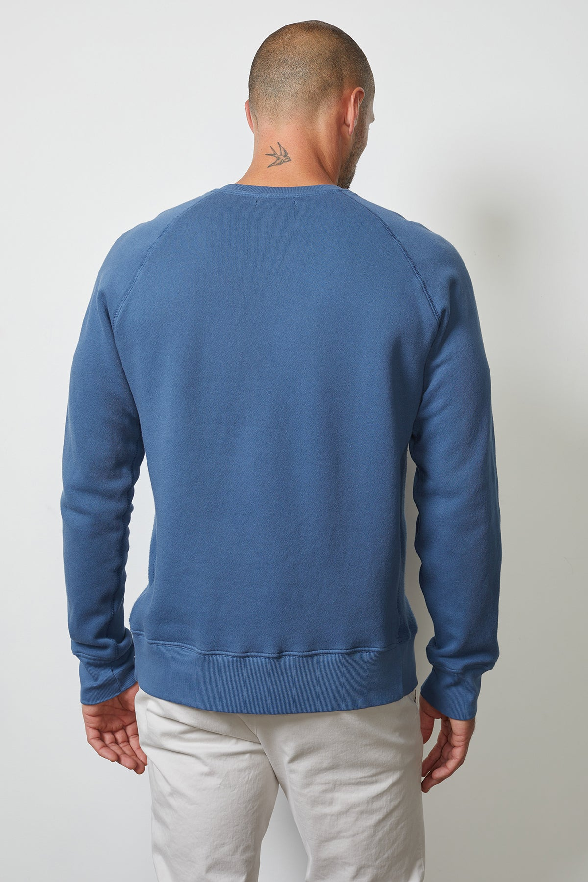 Carson Sweatshirt Captain Back