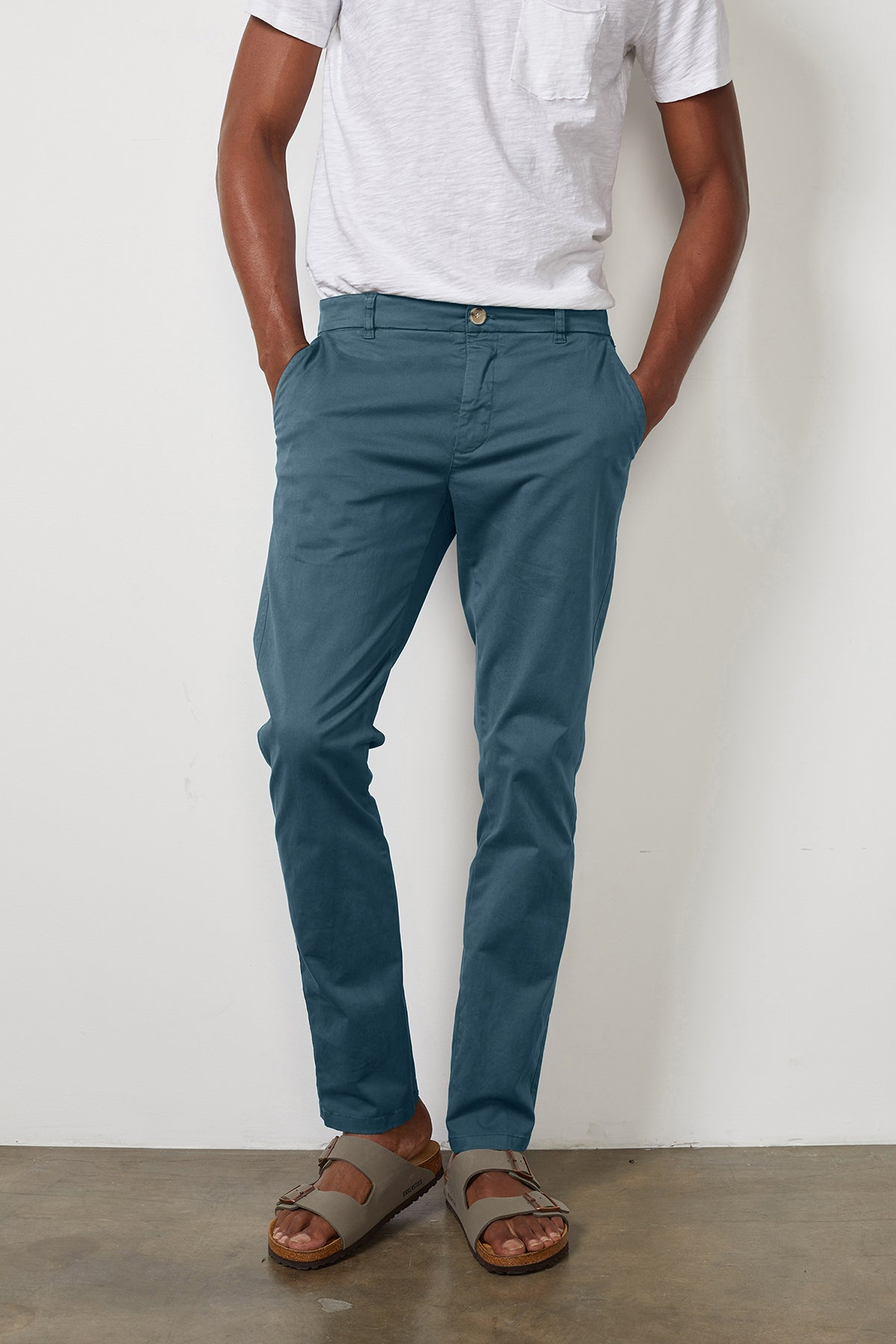 BROGAN COTTON TWILL PANT