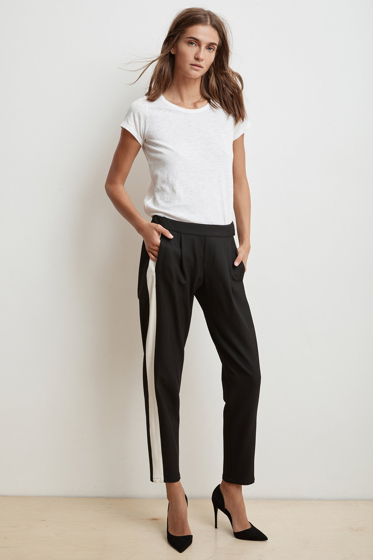 FLORIA SIDE STRIPE PANT