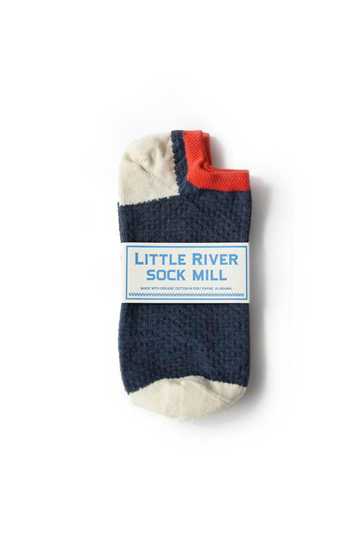 PIN-TUCK FOOTIE SOCK BY LITTLE RIVER SOCK MILL