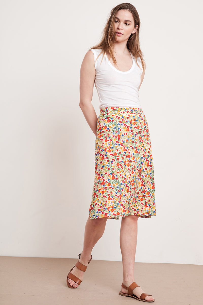 AILA PRINTED SKIRT