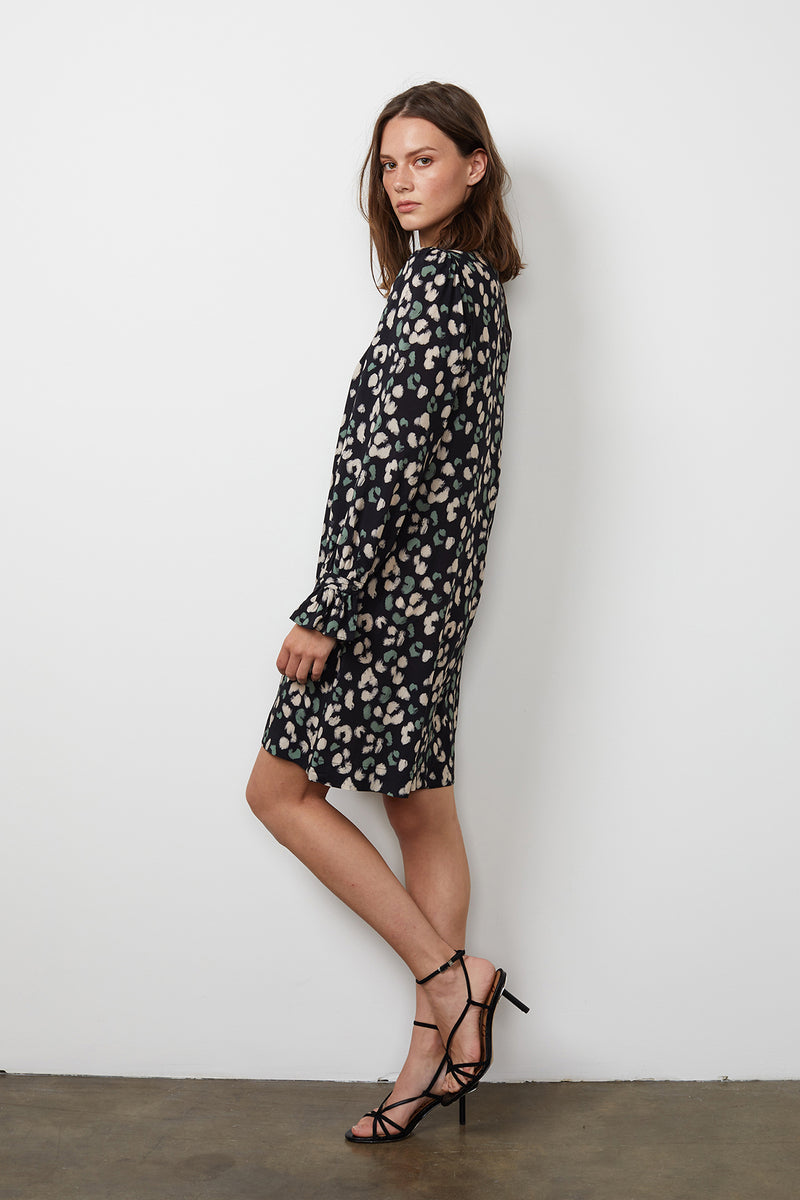 GERTRUDE PRINTED DRESS