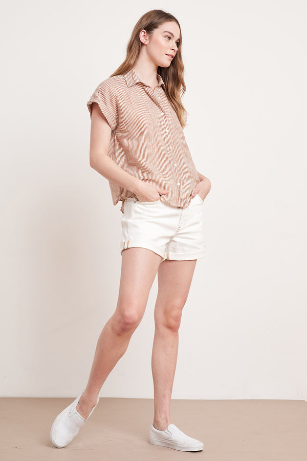 ALETA BUTTON-UP SHIRT