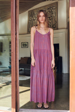 STEFFI STRIPED MAXI DRESS