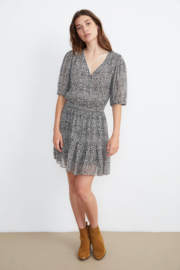 SASKIA HALF PLACKET DRESS