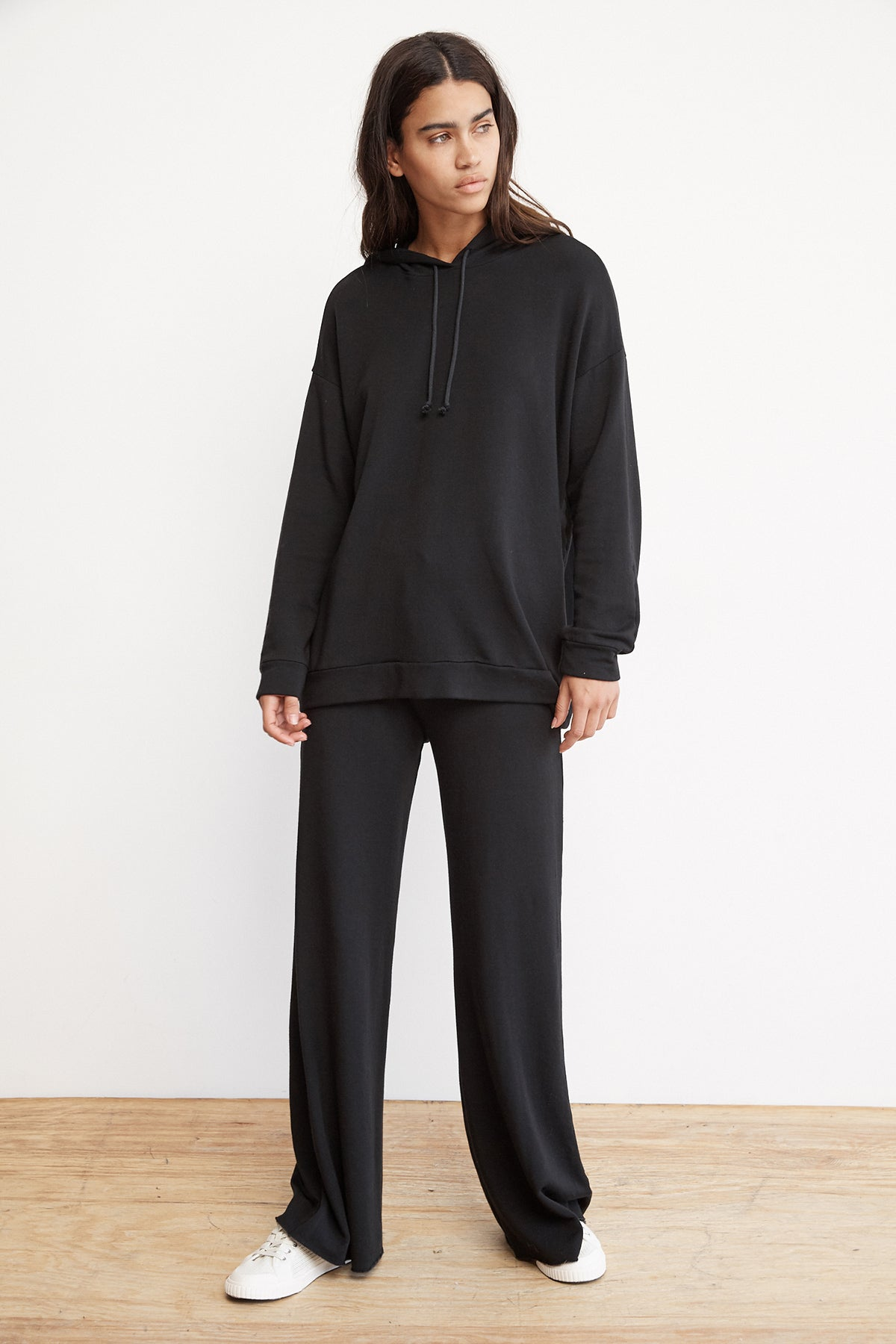 KIT LUXE FLEECE WIDE LEG PANT