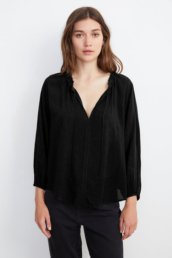 MARTY 3/4 SLEEVE BLOUSE