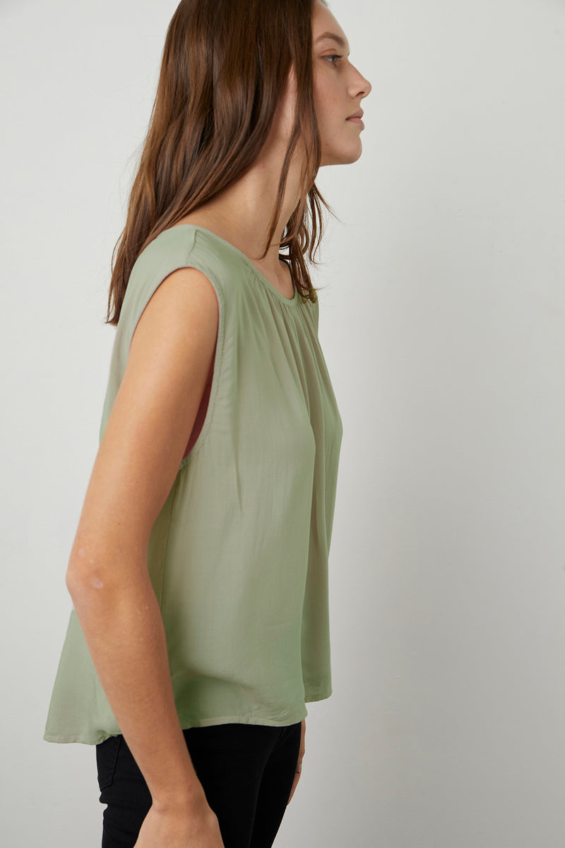 Jade Blouse Branch Side