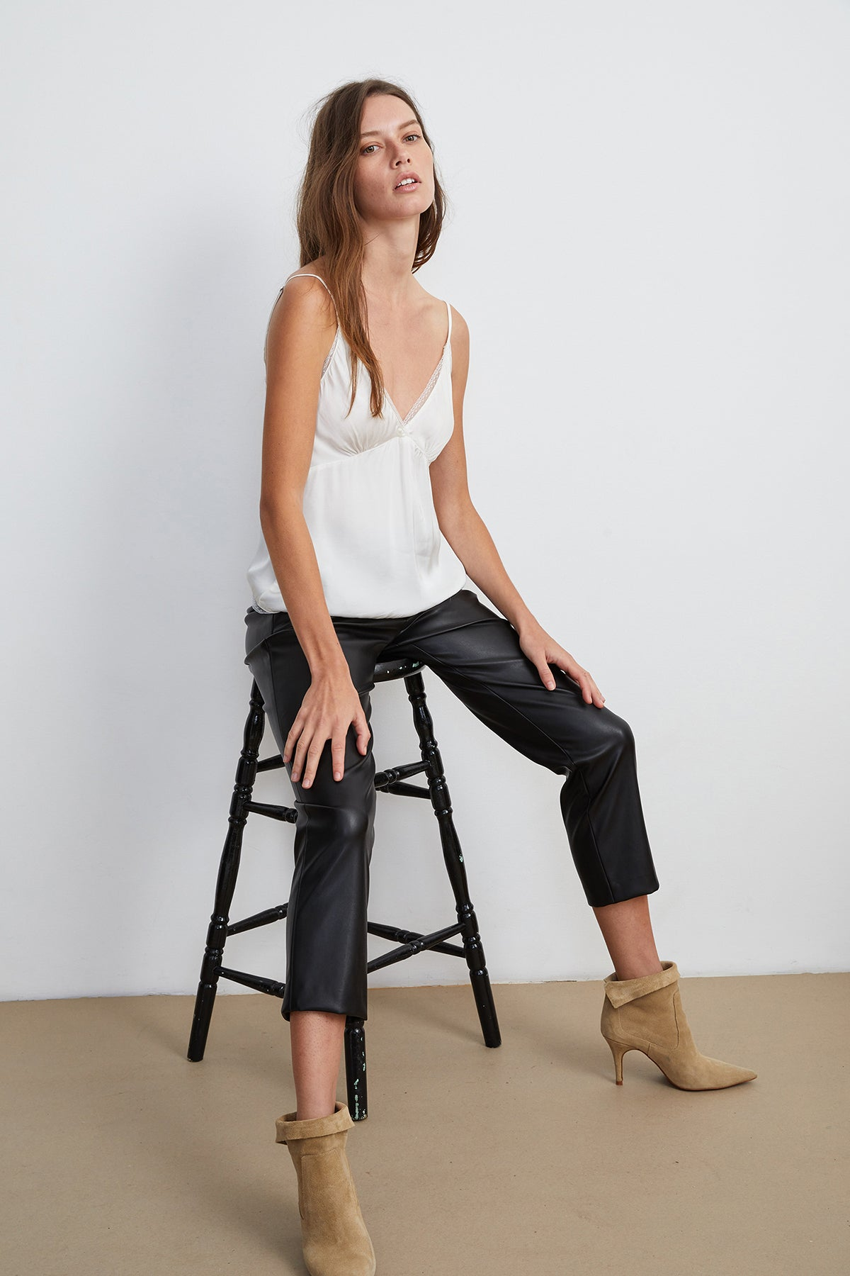 HYDIE VEGAN LEATHER PANT