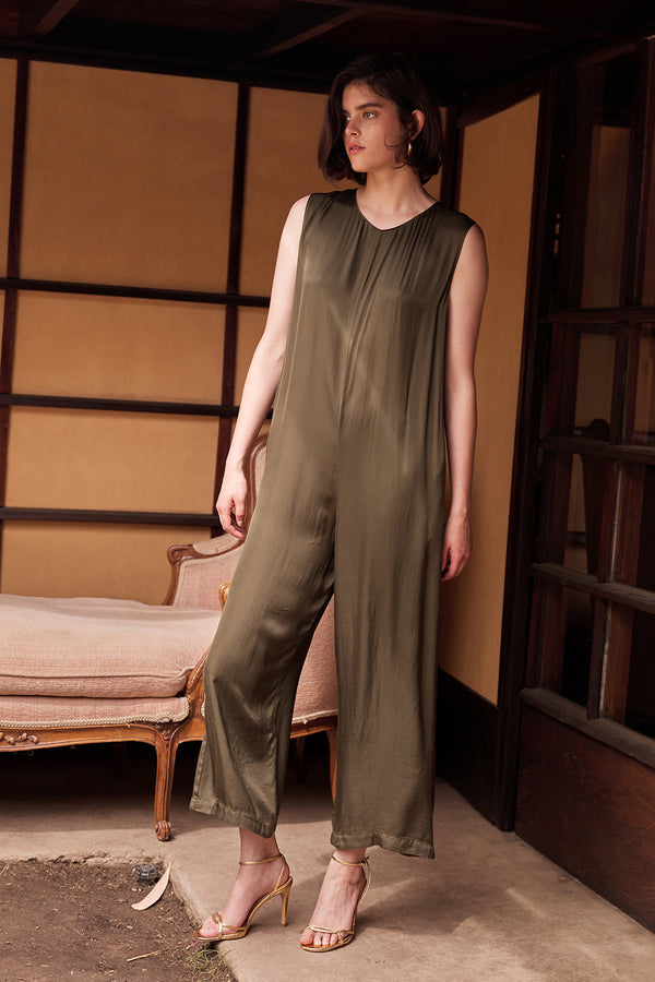 IVY SATIN VISCOSE JUMPSUIT
