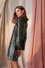 TRISTIE SEQUIN DRESS
