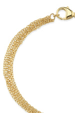 SEVEN STRAND BRACELET IN GOLD BY SLOAN
