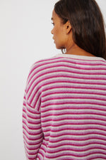 CADIE CASHMERE STRIPED SWEATER