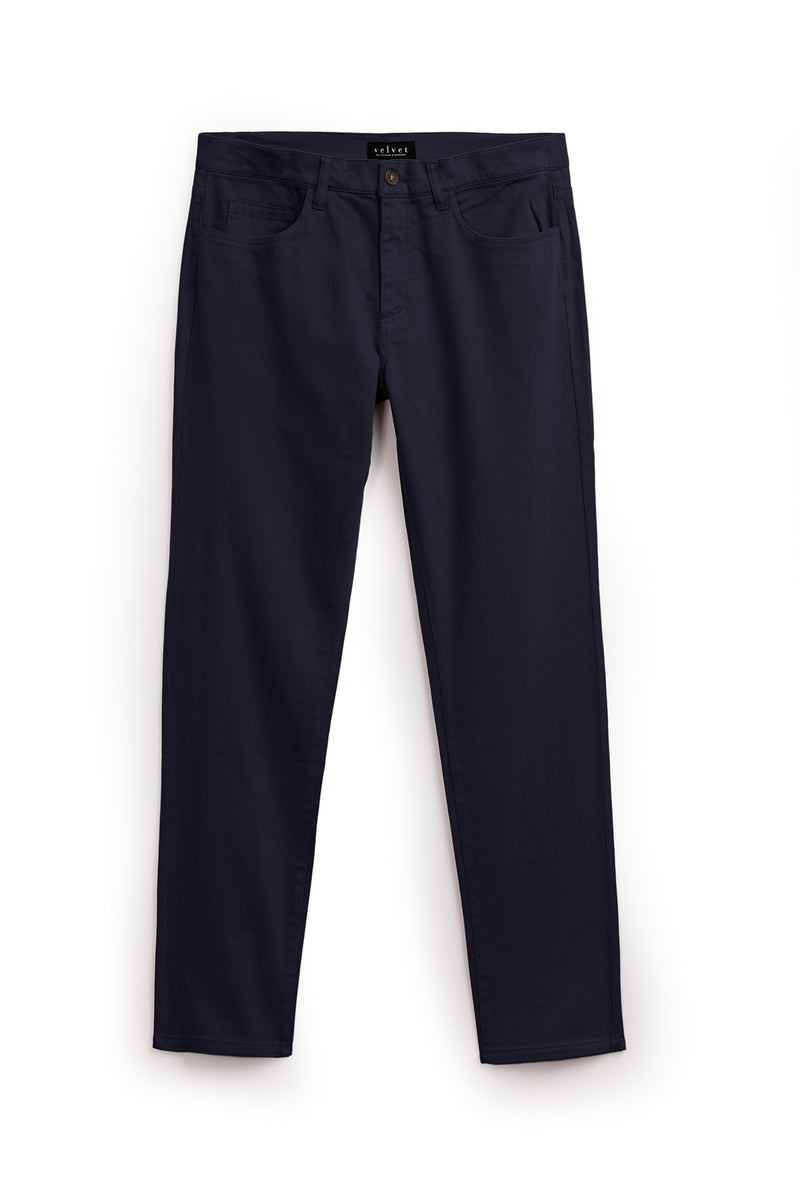Stewart Pant Ink Front Flat