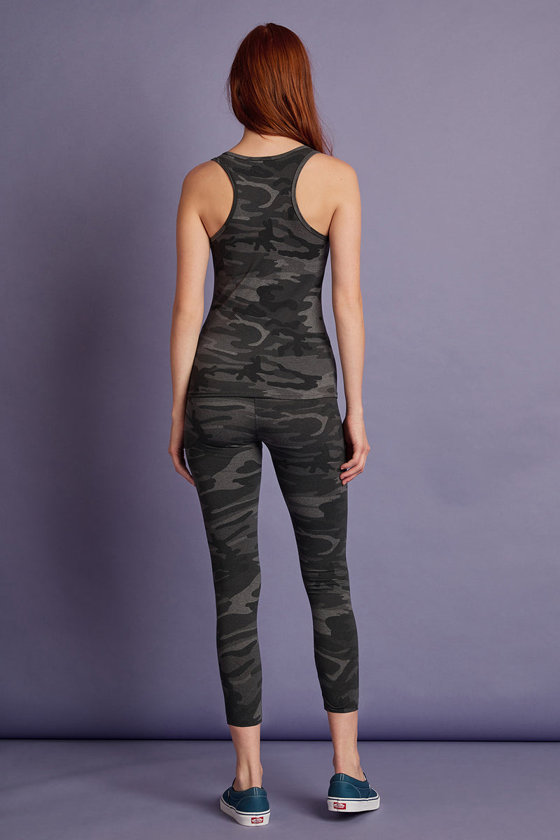 REESE STRETCH CAMO LEGGING