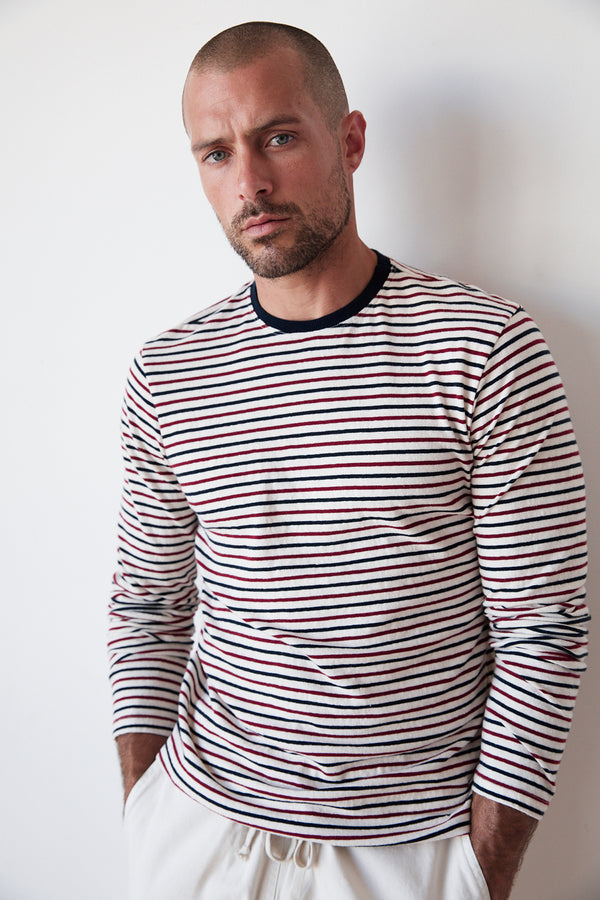 DESMOND STRIPED TEE