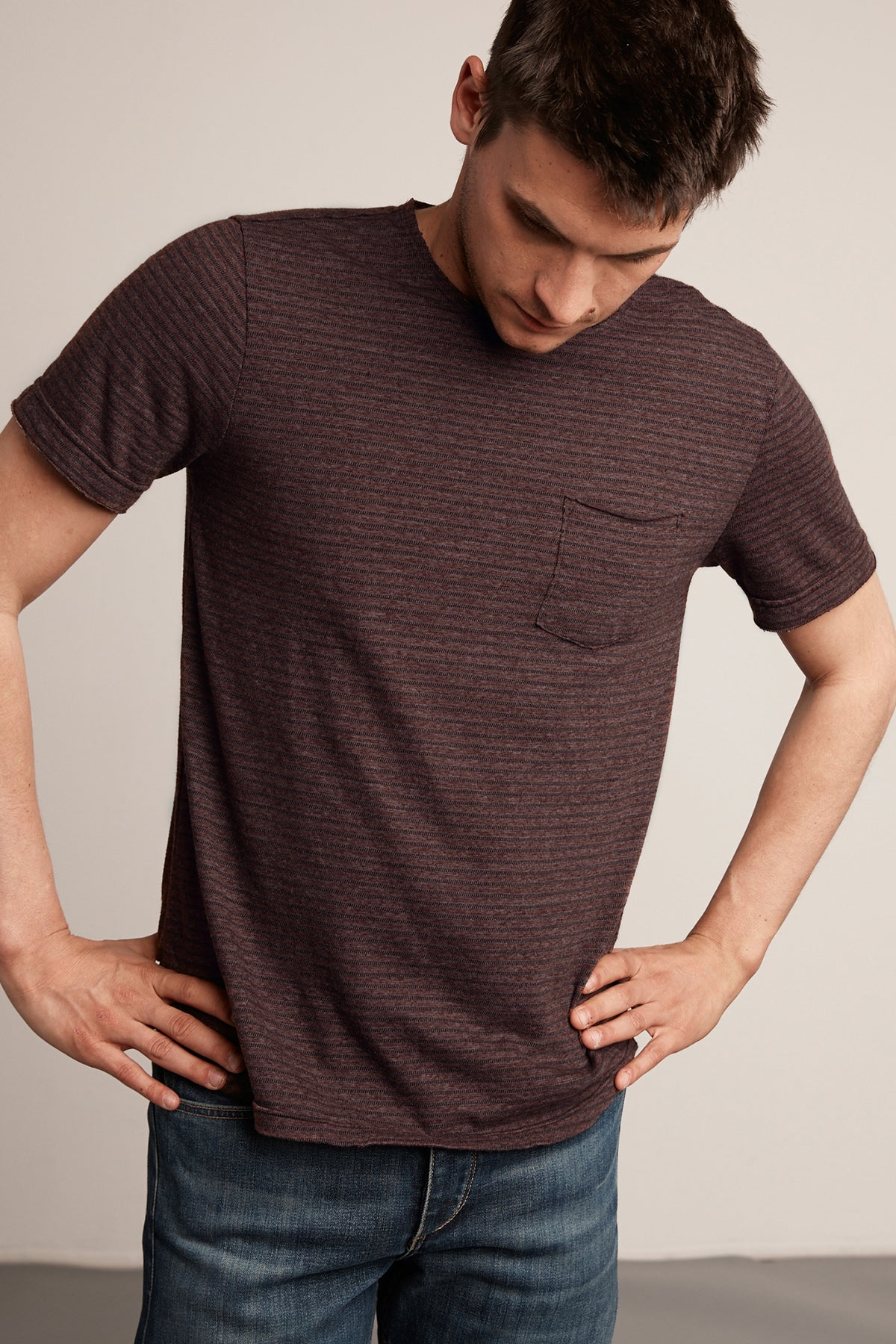 FENIX STRIPE POCKET TEE