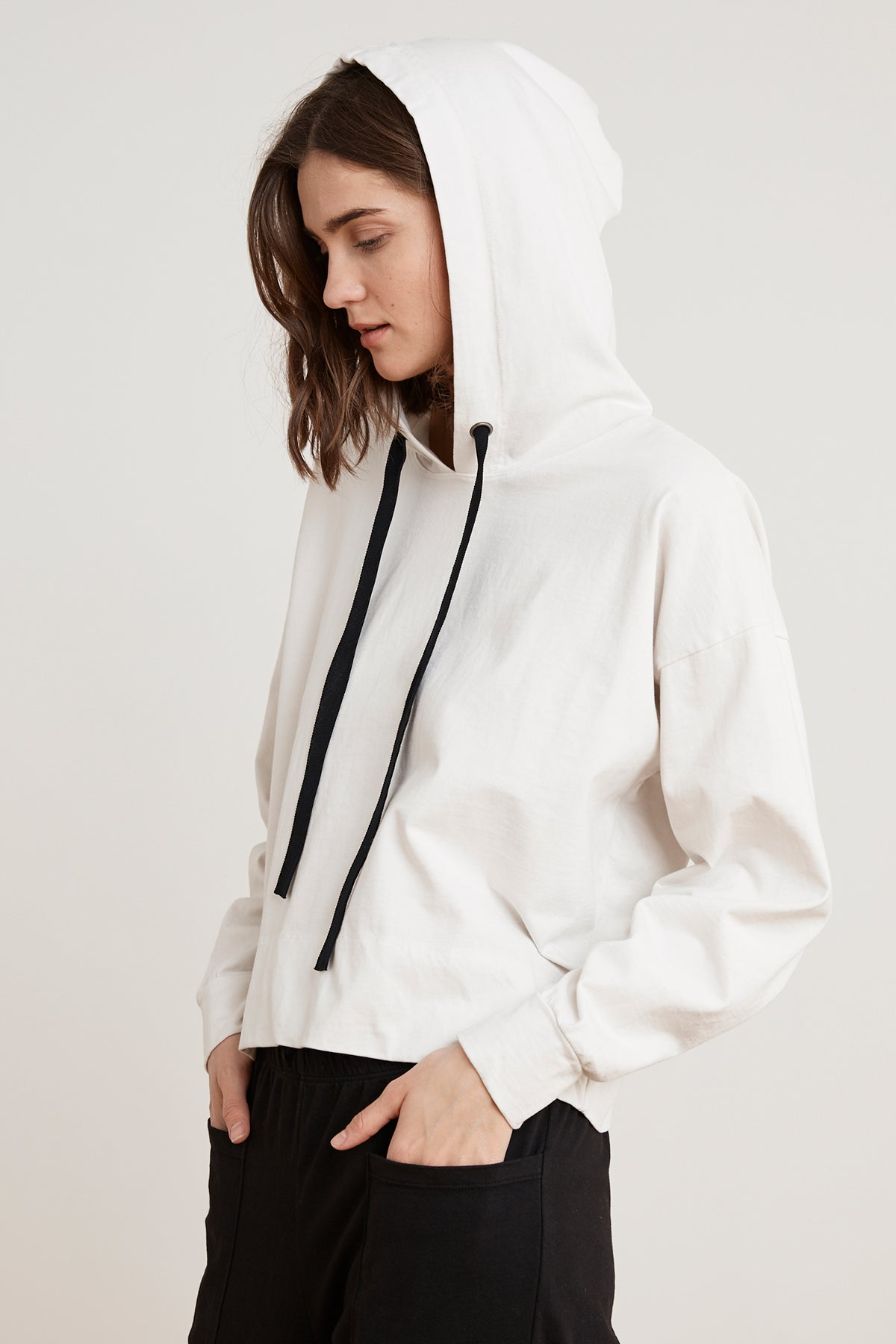PANDORA STRUCTURED COTTON HOODIE