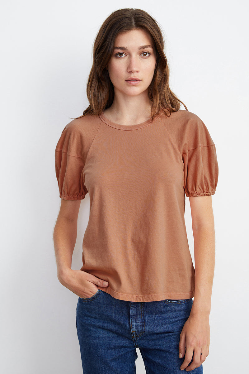 VERNICE PUFF SLEEVE TOP