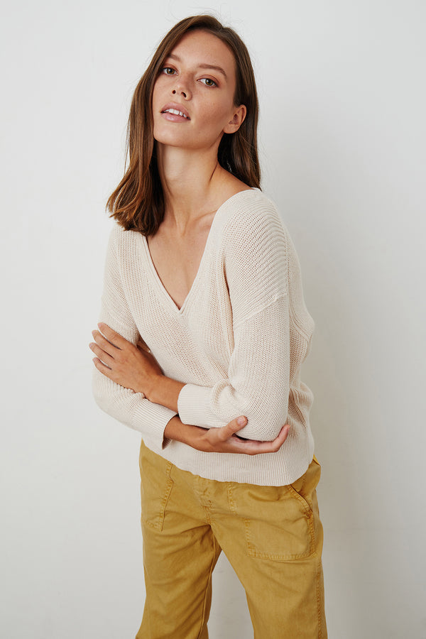 HANA TEXTURED SWEATER