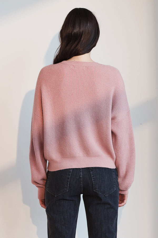 AUTUMN TEXTURED KNIT SWEATER