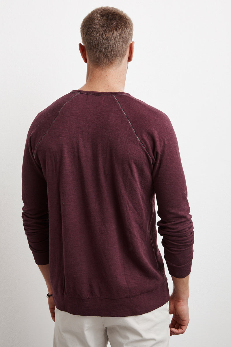 DARYL TRIBLEND DOUBLE FOLD TEE