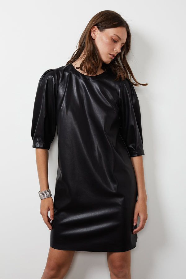 PAM VEGAN LEATHER DRESS