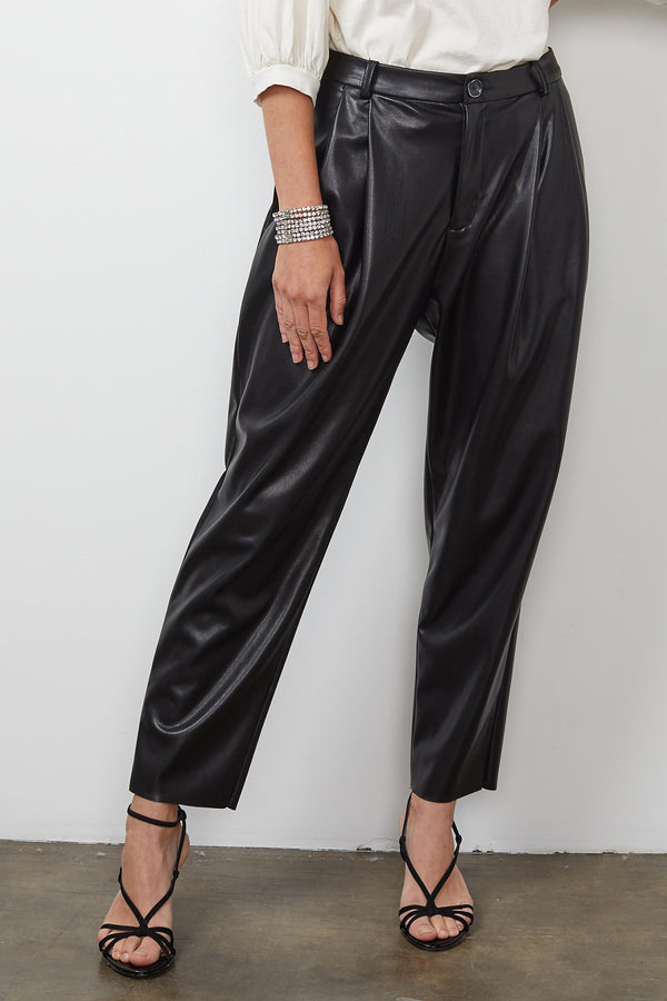 SIMONE VEGAN LEATHER PANT