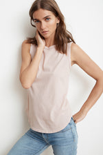 LILIANA VINTAGE WHISPER TANK TOP