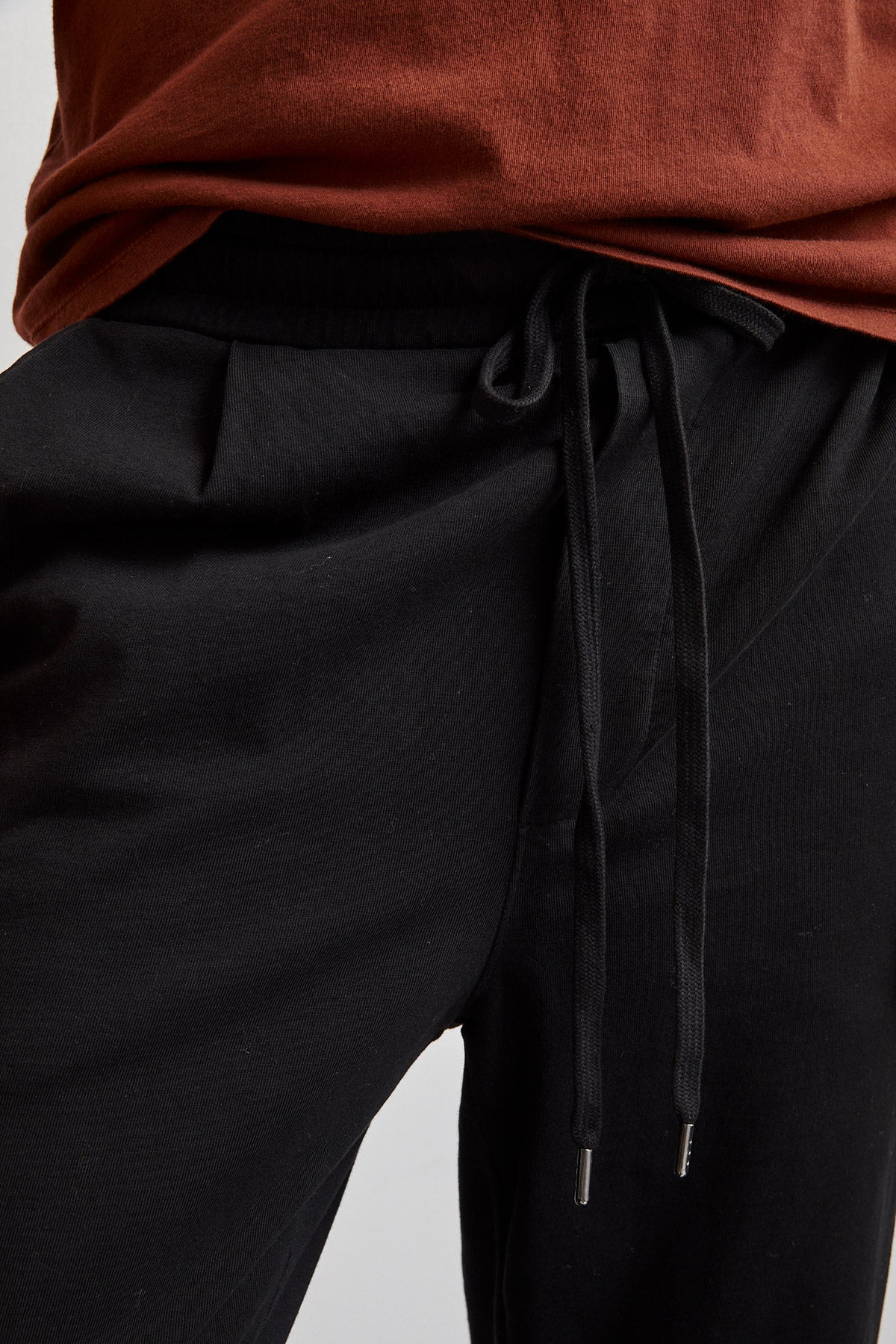 ATOM STRUCTURED JERSEY JOGGERS