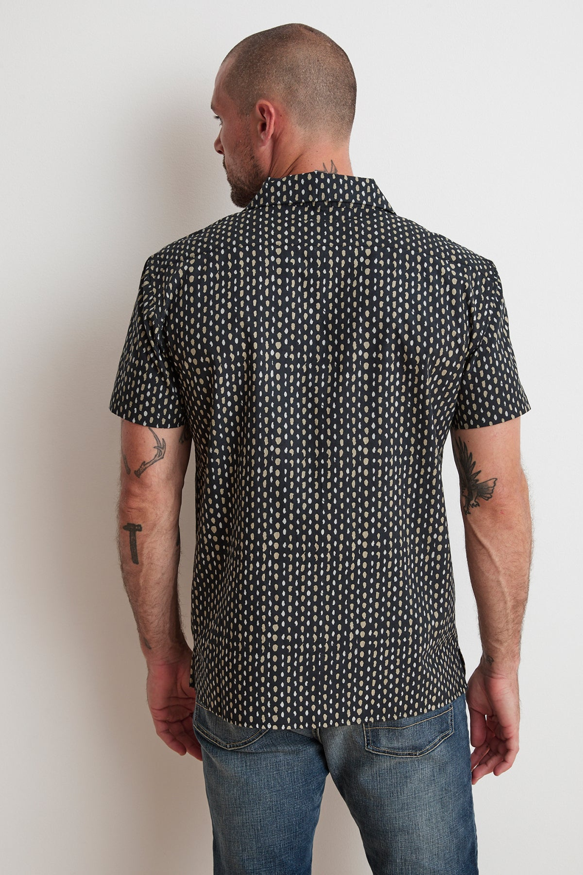 FRANCO PRINTED BUTTON-UP SHIRT
