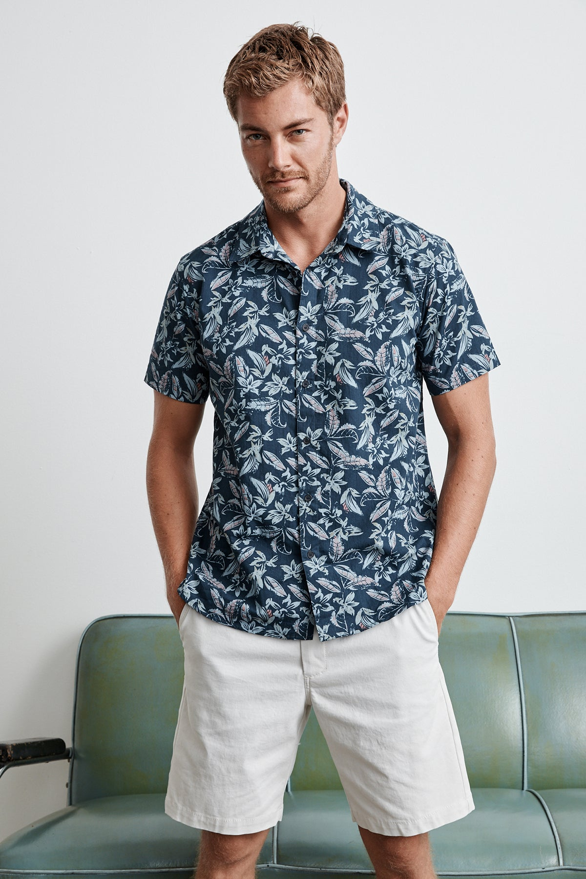 KALUA PRINTED BUTTON-UP SHIRT