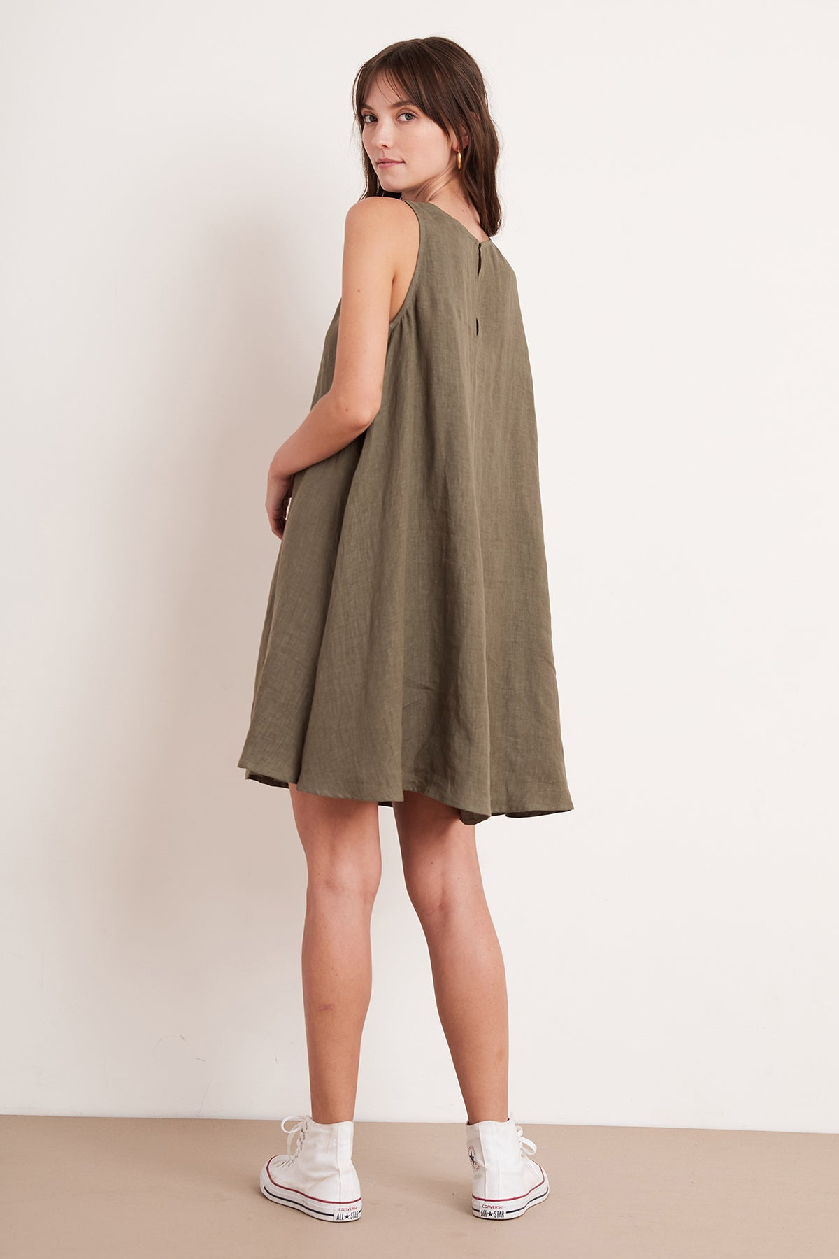 ADALINA LINEN DRESS