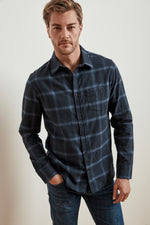 FUJI WOVEN BUTTON-UP SHIRT
