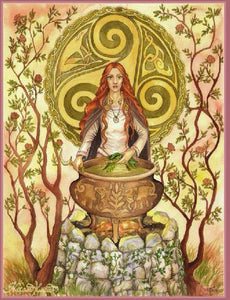 Celebrating Brigid this Imbolc - Our Patron Goddess