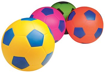 Poof 7-1/2 in Size 3 Soccerball, Colors May Vary