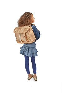 Big Girl's Sparkalicious Gold Backpack, Large Accessory, Gold, Large