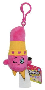 Just Play Shopkins Clip On Plush - Lippy Lips