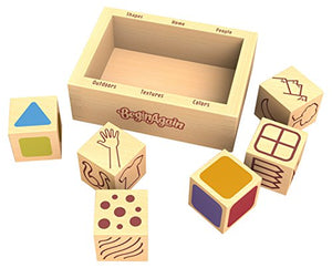 BeginAgain Art Dice Drawing Game  – Portable Art Game Provides Hours of Fun Drawing Ideas