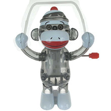 California Creations Sock Monkey Skippy Windup Toy