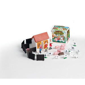 Teeny Tiny Mini Farm Playset