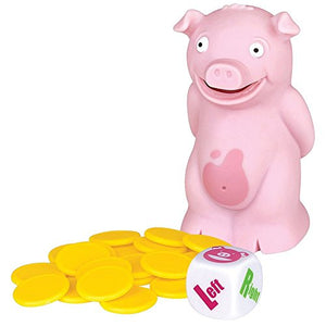 (Set/2) Pass The Tooting Stinky Pig - Funny Hot Potato Farting Dice Game Toy