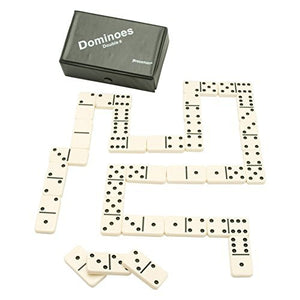 Pressman Toy Double Six Urea Tournament Dominoes