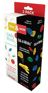 Pressman Toys Then & Now: Tiddly Winks and Catawinks Game (1 Player)