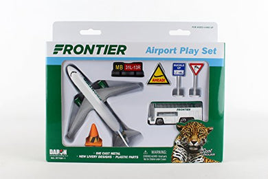 Daron Worldwide Trading Frontier Spot the Jaguar Play Set Airline Airport