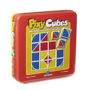 Toy / Game Wonderful Blue Orange Pixy Cubes - Strengthens Color And Shape Recognition (Ages 6 - 10 Years)
